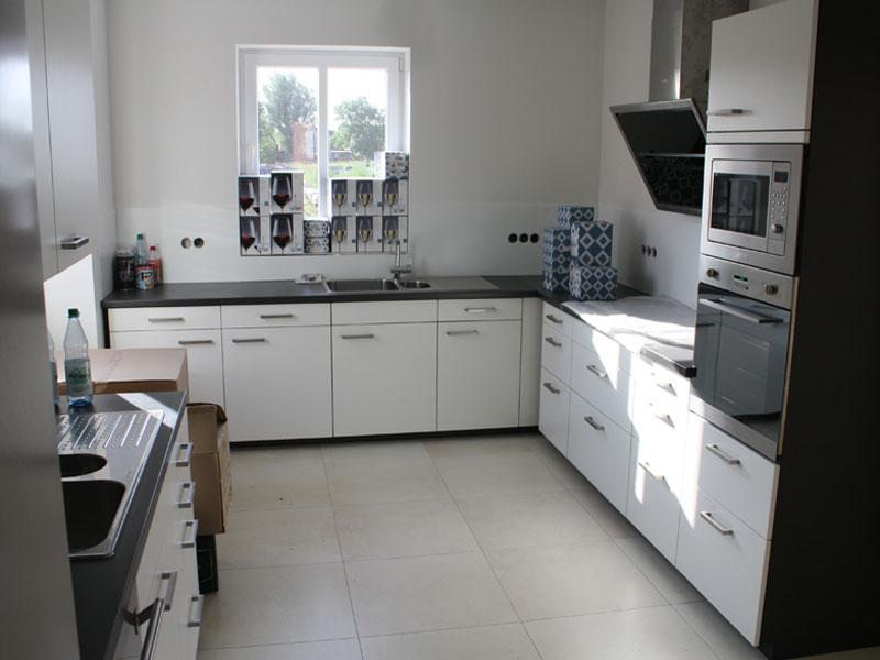 Küche in Suite