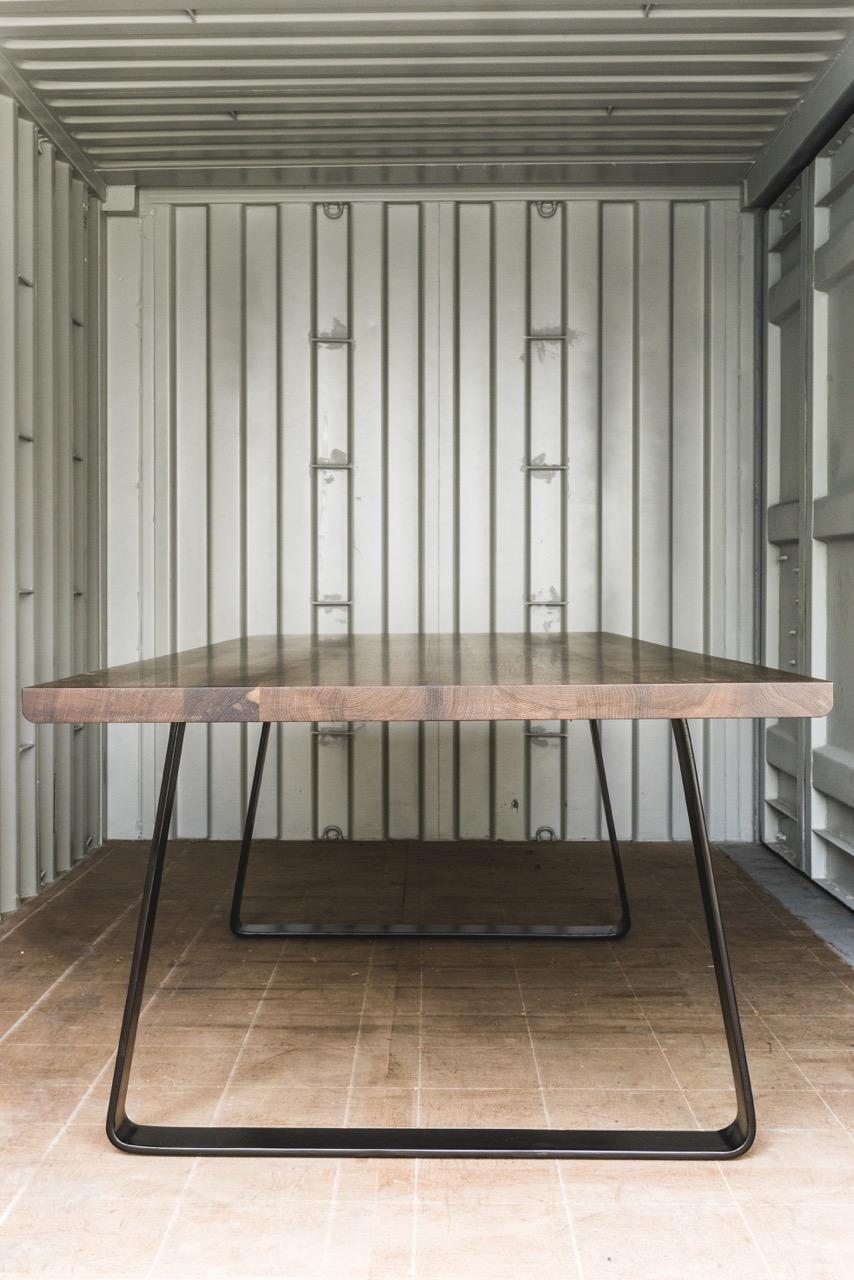 Tisch Räuchereiche