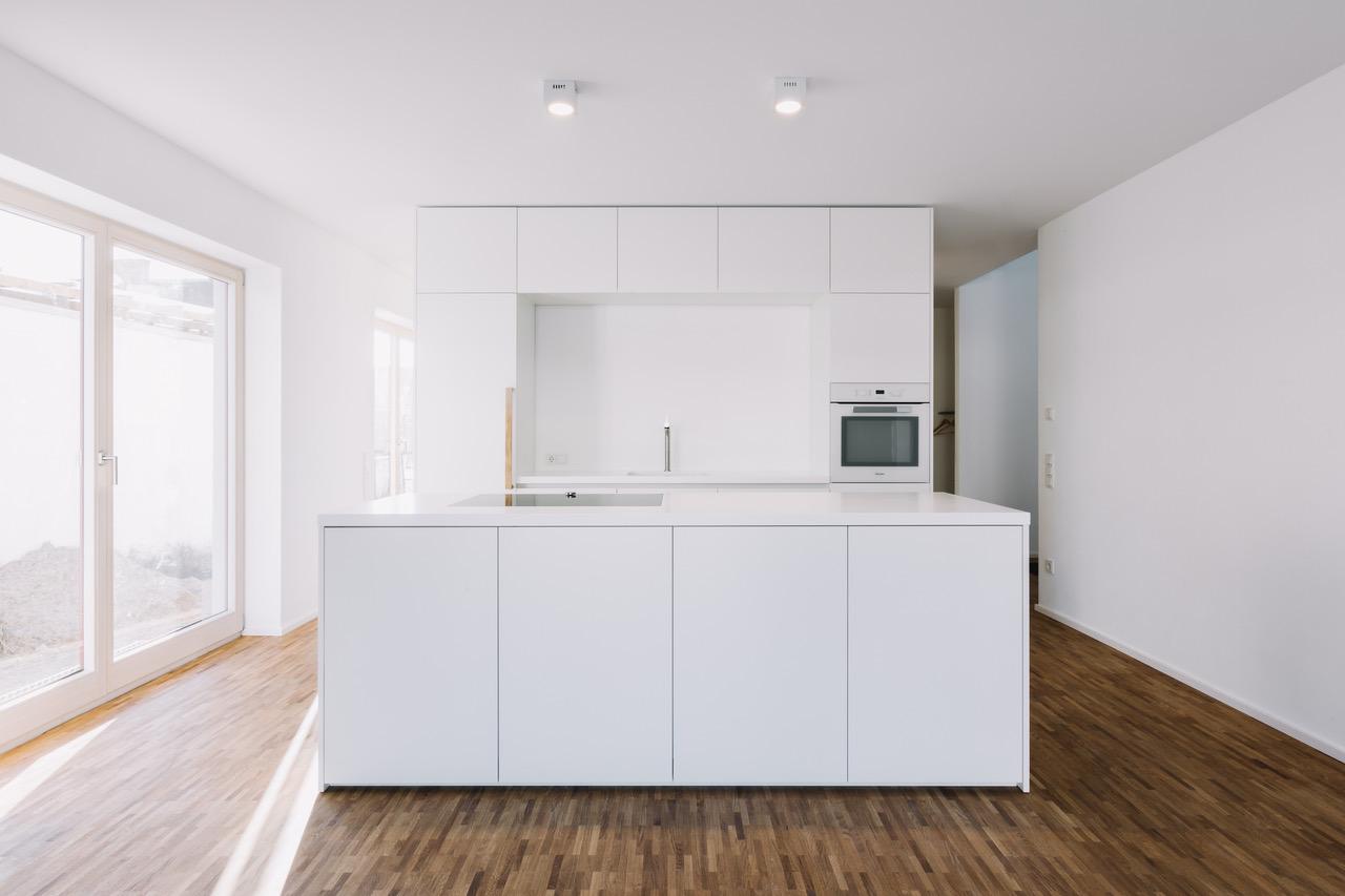 Küche als Raumteiler